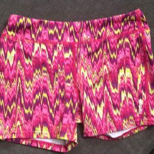 🌈 3 for 10 Girls Reebok Spandex Shorts